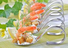 cocktail déjeunatoire, décoration de table